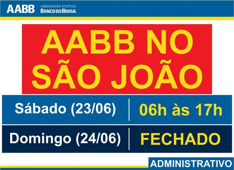 AABB no São João!