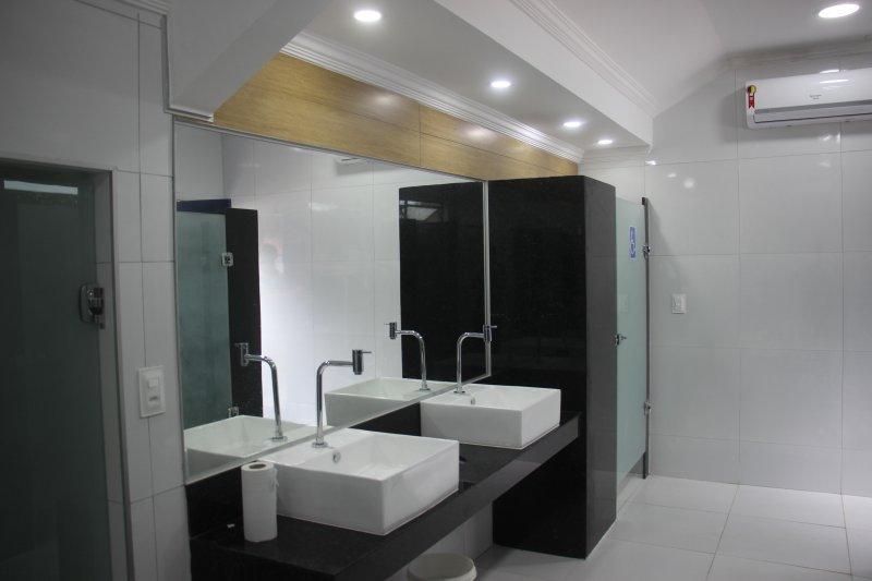 AABB Recife inaugura novos vestiários de piscina!