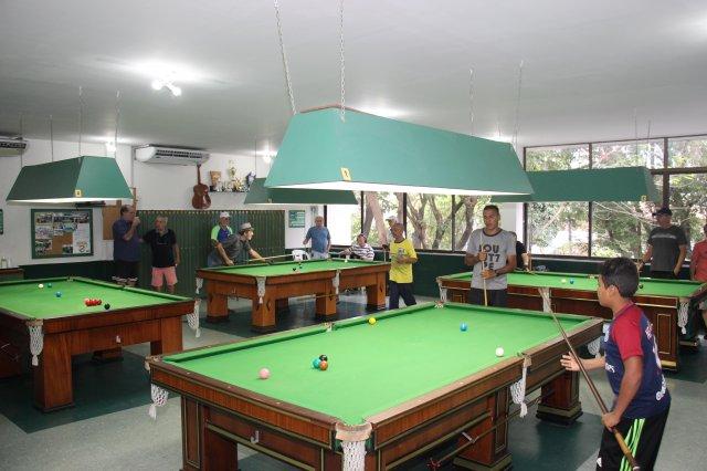 Sala de Sinuca